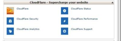 CloudFlare Pasul 1