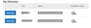 CloudFlare Pasul 3
